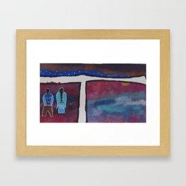 kisik 4 Framed Art Print