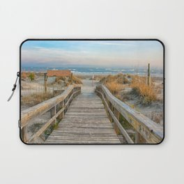 I Can Hear The Waves Calling My Name Laptop Sleeve