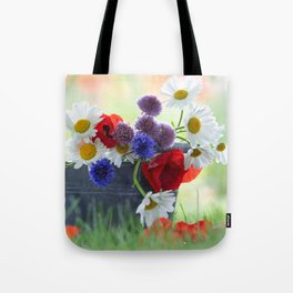 Flower potpourie from the cottage garden Tote Bag