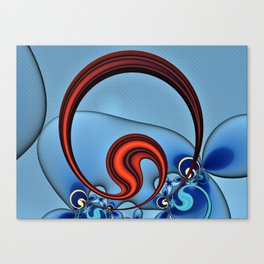 Woven Circlet Canvas Print