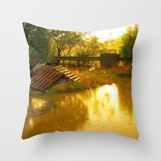 Let it rain... Throw Pillow