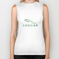 jaguar Biker Tanks featuring Jaguar by kartalpaf