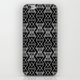 RIGHT AND WRONG:III BLACK DREAMS iPhone Skin