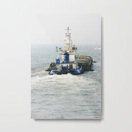 Tugboat NYC Metal Print