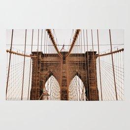 Brooklyn Bridge Manhattan, New York City (NYC) Rug