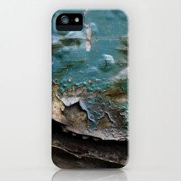 Teal Peal IV iPhone Case