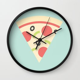#85 Pizza Wall Clock