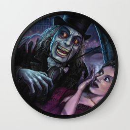Vampire of London Wall Clock