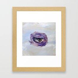 Blinking Sky 2 Framed Art Print