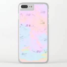 dawn time Clear iPhone Case
