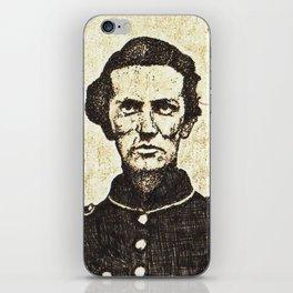 sgt george c whitecar iPhone Skin