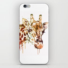 Giraffe Head iPhone Skin