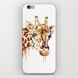 Giraffe Head iPhone Skin
