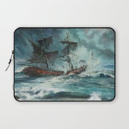 The Sea of Tranquility Laptop Sleeve