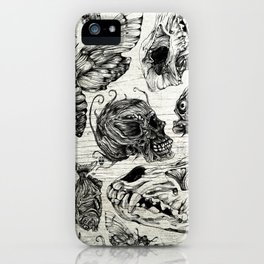 Bones and Co iPhone Case