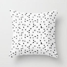 Eyeball Frenzy Throw Pillow