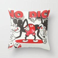 No Dice Throw Pillow