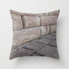 Stone Effect Throw Pillow