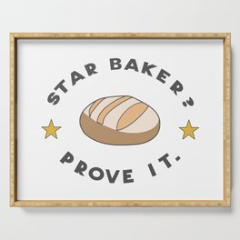 Star Baker? Prove It / Great British Baking Show Serving Tray