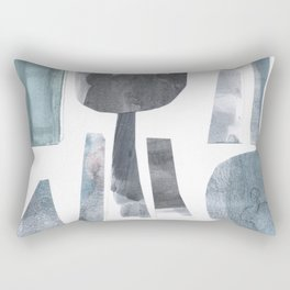 Divided Nature Rectangular Pillow