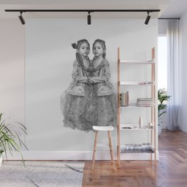 Sisters Twins Wall Mural