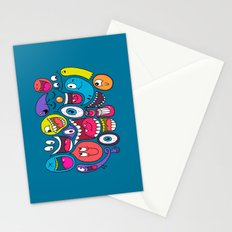 Friendly Faces Stationery Cards