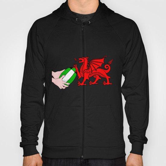 Wales Rugby Flag Hoody