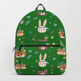 Woodland Green Backpack