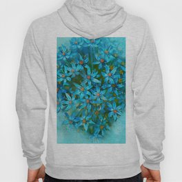 Floral Abstract 102 Hoody