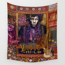 Voodoo Child Wall Tapestry