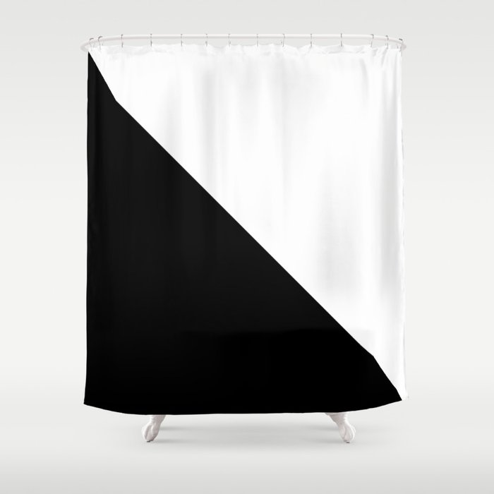 Split Shower Curtain By Newwave