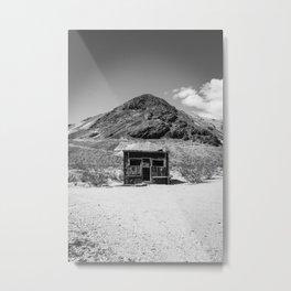 This Humble Hut Metal Print