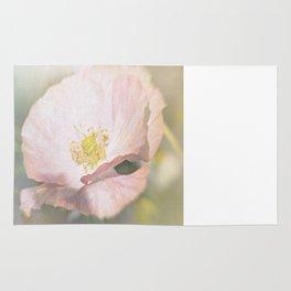 Light pink Flower Rug
