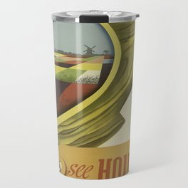 Vintage poster - Holland Travel Mug