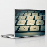 mac Laptop & iPad Skins featuring Mac Keyboard by Mauricio Togawa