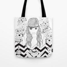 Alice in Wonderland Series - Eat me Tote Bag