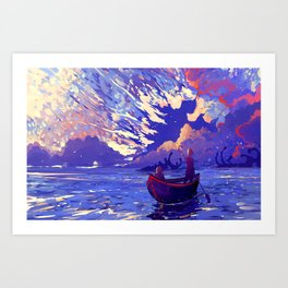 Brianna Lake Art Print