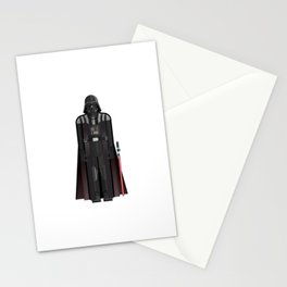 Fictional Sith Lord Character Minimal Sticker Stationery Cards