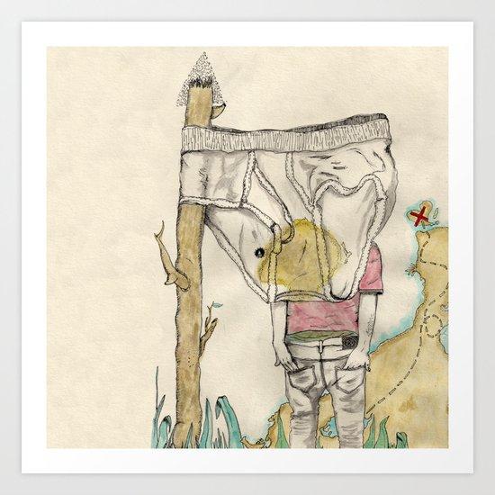 Sinmap Art Print