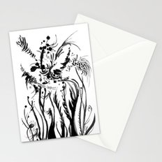 Deco Floral Stationery Cards