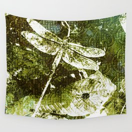 Celtic Green Dragon Wall Tapestry