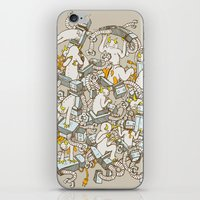 inner demons iPhone & iPod Skins featuring Inner Demons by Katie Owens