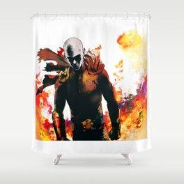 Onepunch Man Shower Curtain