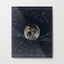 Pathfinder Night Metal Print