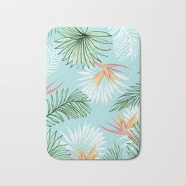 Tropic Palm #society6 #decor #buyart Bath Mat