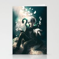 kuroshitsuji Stationery Cards featuring Snake by 1MI0