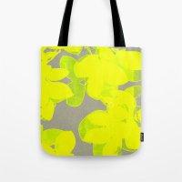 olivia joy Tote Bags featuring joy  by Garima Dhawan