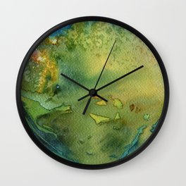 Grün Wall Clock