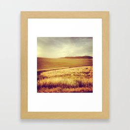 Palouse Drive Bys. Framed Art Print