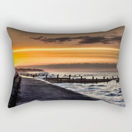 Walcott promenade sunset Rectangular Pillow